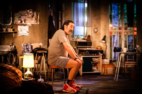 Production Photographs from The Night Alive, written and directe